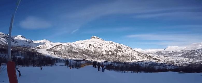 Hemsedal in winter skieen